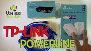 Tp-Link Powerline AV1000 Ethernet - Installation & Speed Test