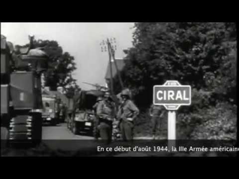 D-Day. 1944. Libération de Mayenne, Laval, Pré-en-Pail, Ciral et Carrouges