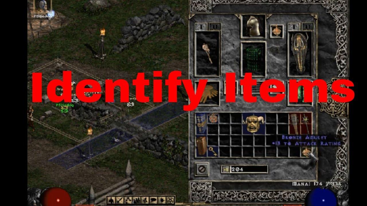 How to identify items in Diablo 2: Resurrected