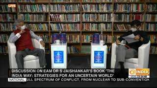 EAM Dr. S. Jaishankar and his book 'The India Way: Strategies for an uncertain world' A discussion