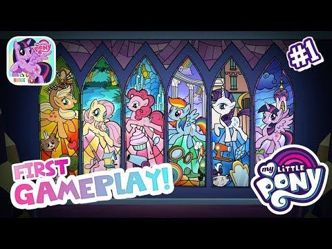 My Little Pony: Harmony Quest #1 Gameplay APPLE JACKS TWILIGHT SPARKLES ★ iOS/Android app