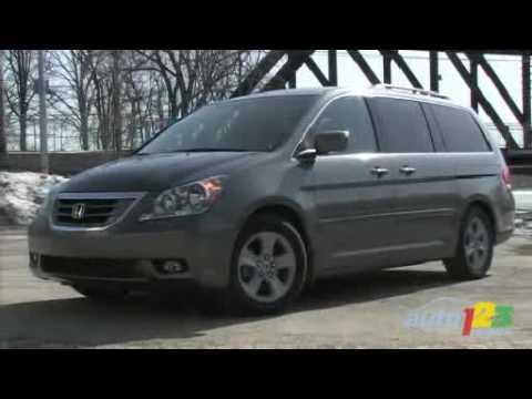 2008 Honda Odyssey Touring Review By Auto123.com   YouTube