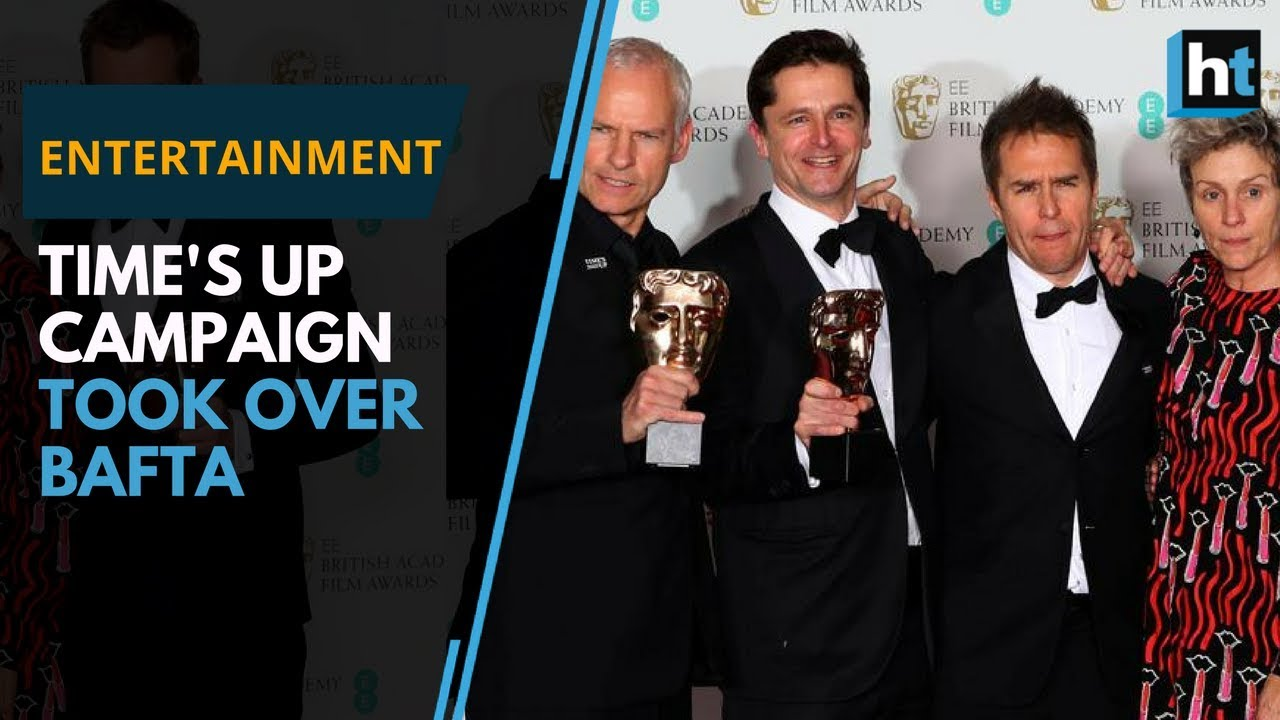 Time's Up campaign takes over BAFTA