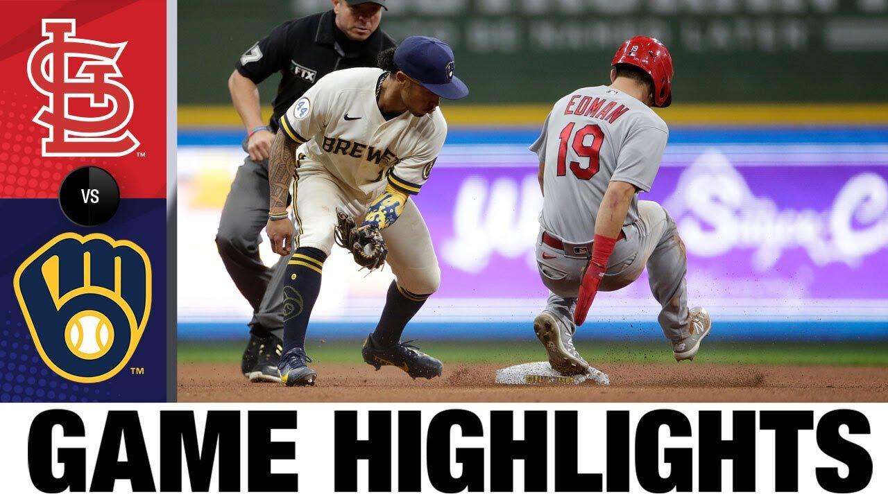 Download Cardinals vs. Brewers Game Highlights (9/21/21) | MLB Highlights
