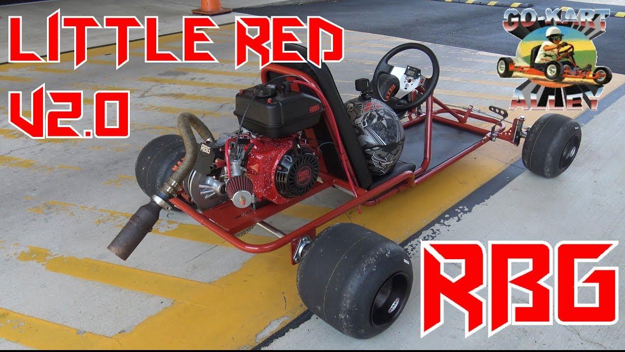 Go Kart Alley Go Kart Frame Build | Little Red V2.0 - YouTube
