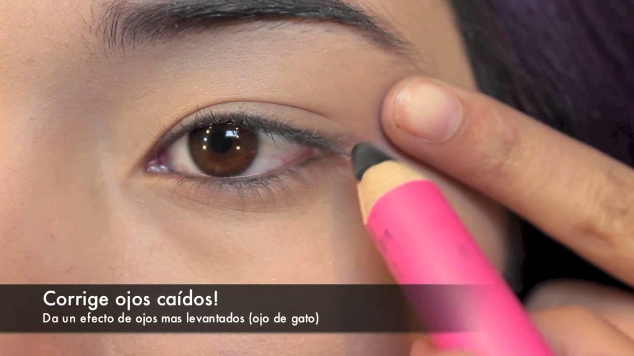 Delineador en lapiz segun tu forma de ojos eyeliner for - Maneras de pintar los ojos ...