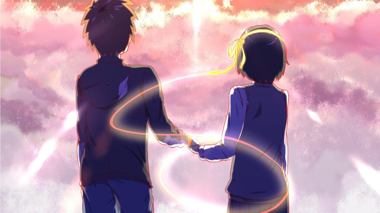 Anime Mix Wallpaper Kimi No Na Wa Your Name Ost 【1 Hour】 Kataware Doki Mix