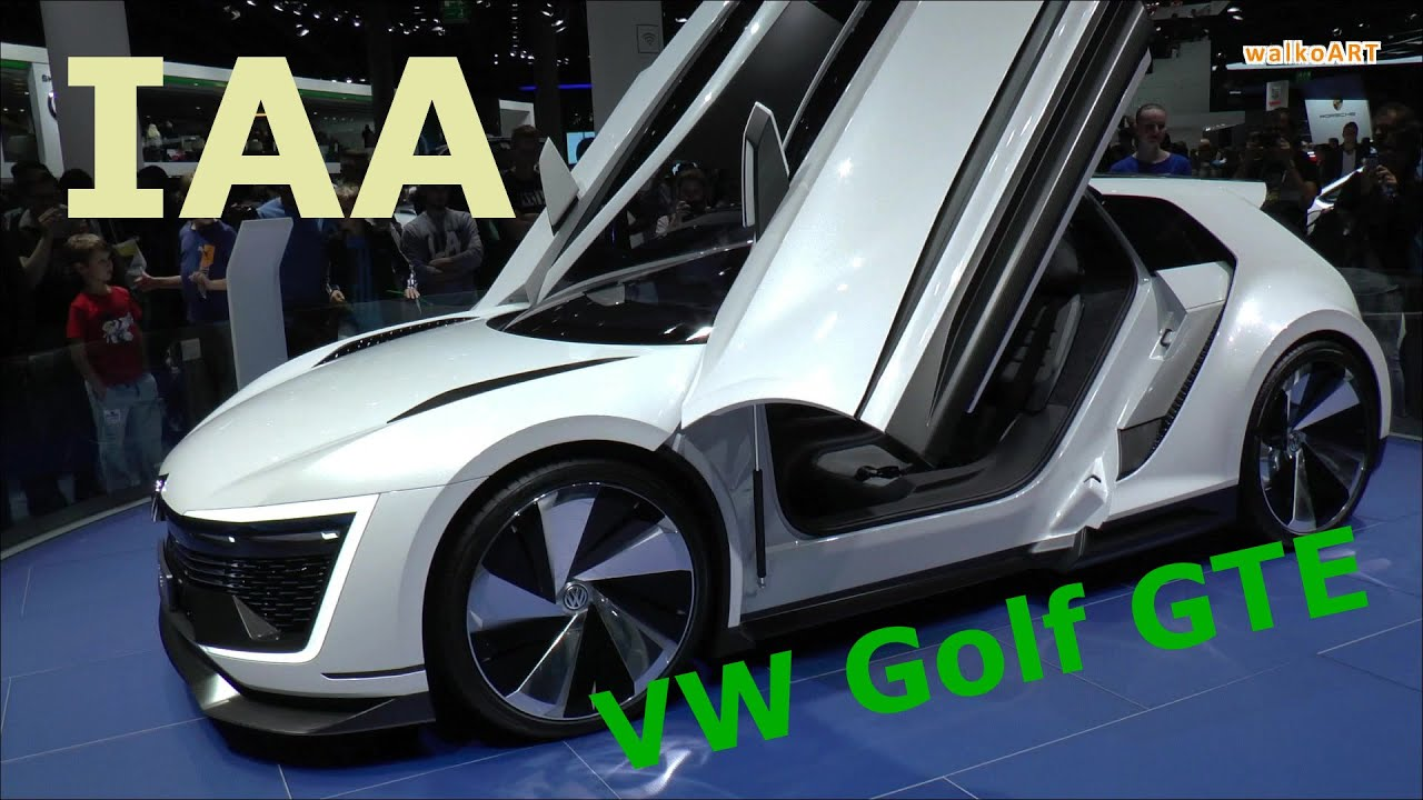 iaa 2015 volkswagen vision golf gte sport studie f r. Black Bedroom Furniture Sets. Home Design Ideas
