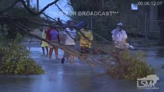 10-6-16 Nassau, Bahamas Hurricane Matthew Damage