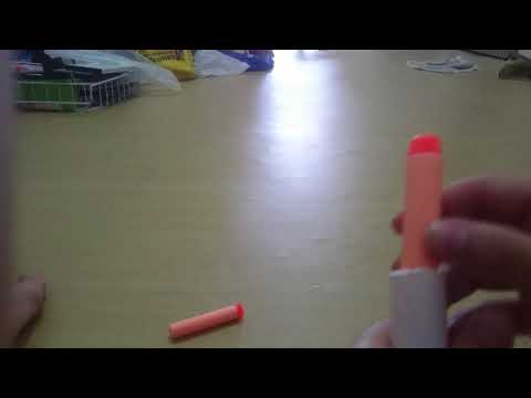 Paper Nerf Gun Review (over 13 ft)