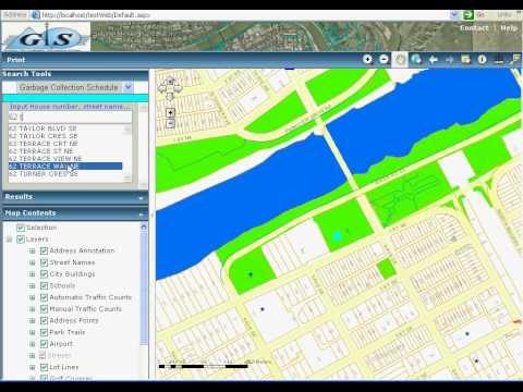How to create a GIS Web application