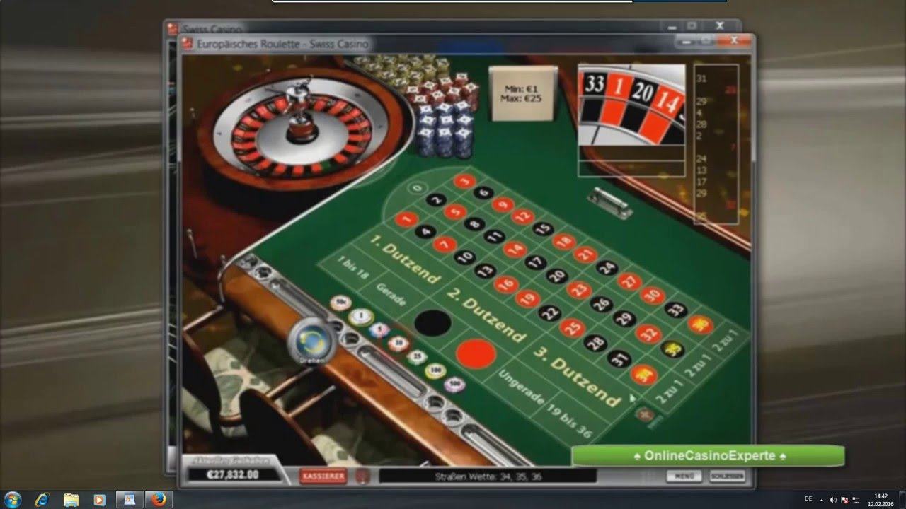Roulette Mit System
