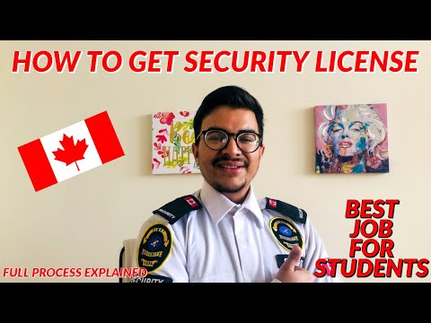EP-06 | HOW TO GET SECURITY LICENSE IN CANADA | BEST JOB FOR STUDENTS