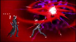 Naoto Kurogane's Astral Finish BLAZBLUE CROSS TAG BATTLE https://st...