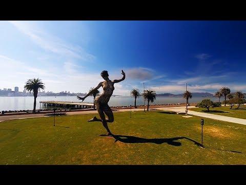 DJI Phantom 2 at Treasure Island & Bliss Dance Statue