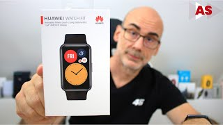 Huawei Watch Fit: unboxing!