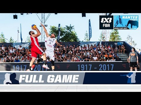 Serbia scrape by against Egypt - Full Game - FIBA 3x3 World Cup 2017