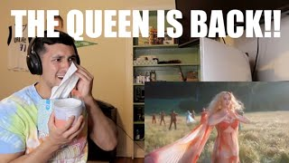Katy Perry - Never Really Over - REACTION, the Queen is BACK!!