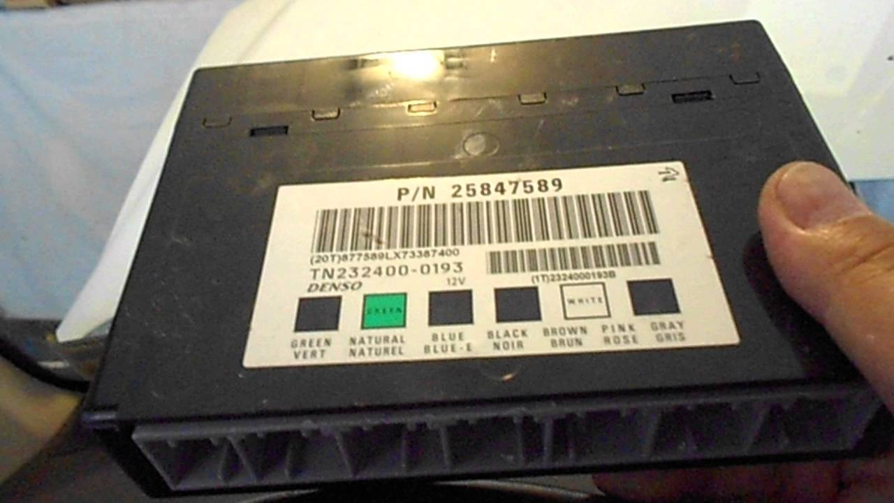 saturn vue 2008 2013 chevrolet captiva bcm body control module mounting removal where to find it [ 1280 x 720 Pixel ]