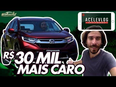 NOVO HONDA CR-V VALE R$ 180 MIL? BOLA RESPONDE NO ACELEVLOG #36 | ACELERADOS