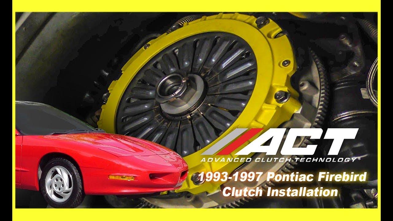 act clutch install 1993 1997 chevrolet camaro and 1993 1997 pontiac firebird [ 1280 x 720 Pixel ]