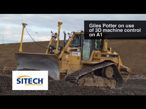 In Action: Potter Plant Hire Trimble 3D Machine Control Fleet Supported By SITECH UK And Ireland