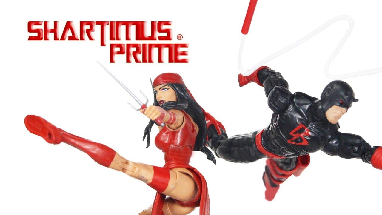 Marvel Legends Daredevil 6-Inch Action Figure Spider-Man Series BAF SP dr