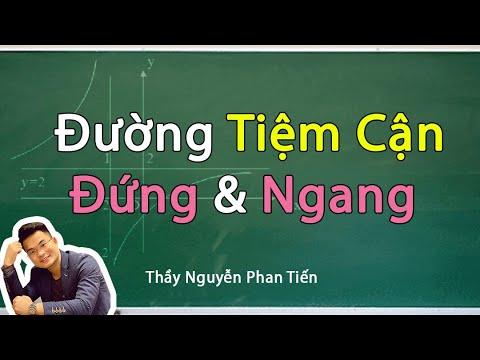 Đường Tiệm Cận của Đồ Thị Hàm Số – Toán 12 | Thầy Nguyễn Phan Tiến