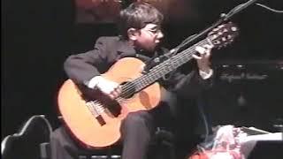 Celil Refik Kaya Childhood Recital In CRR Guitar Festival In Istanbul