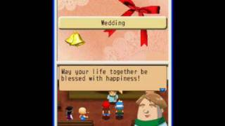 Harvest Moon: Island of Happiness - Mark's Proposal and Wedding