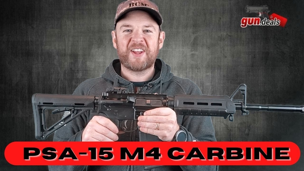 PSA M4 AR-15 Review - Under $1000 AR 15 Rifle