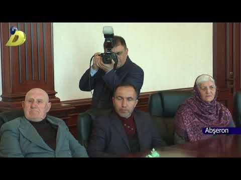 DTV Abşeron rayon İH də Kəlbəcərli şəhid ailələri ilə görüş keçirilib 02 04 2018