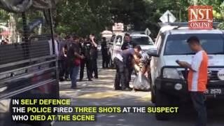 Gunman shot dead by police in USJ stand-off