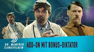 Dr. Manfred Schniepelbein – Verschwörung mit Bonus-Diktator