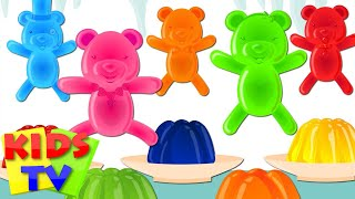 Jelly Bears Finger Family | Kindergarten Nursery Rhymes For Children