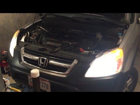 Honda CRV Headlight Bulb Replacement (HD) - YouTube