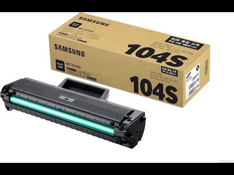 Заправляем картридж MLT-D104S для от принтера Samsung SCX-3200