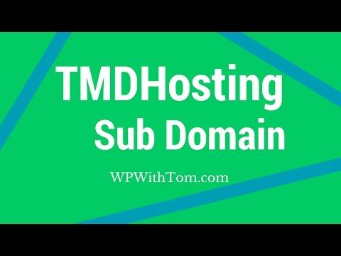 How to Add a Sub Domain on TMDHosting: Install WordPress | 2017 😀