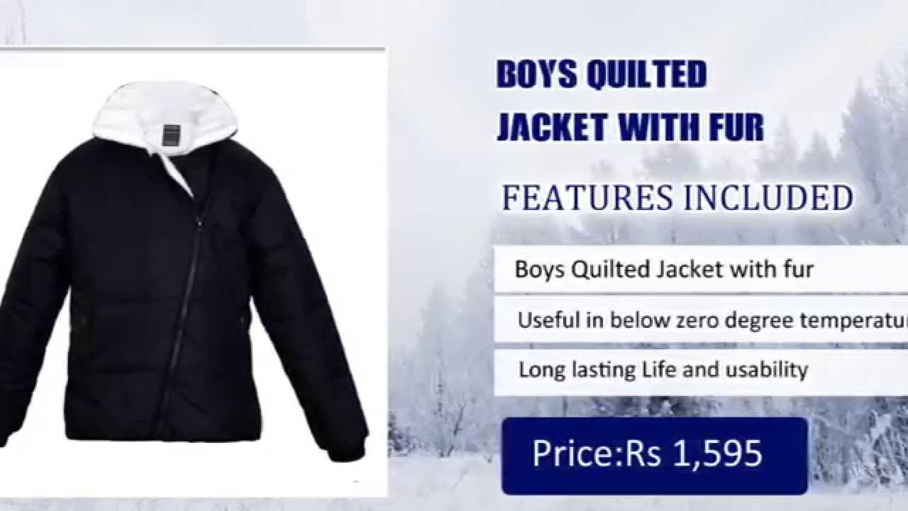 e87bc892c5 Boys Jackets Online in India - Buy winter jacket for boys - YouTube