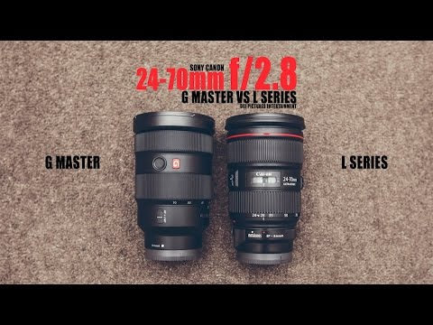 sony 24 70 2 8. canon ef 24-70mm f/2.8l ii usm vs sony f/2.8 gm g master (which one is better?) 24 70 2 8