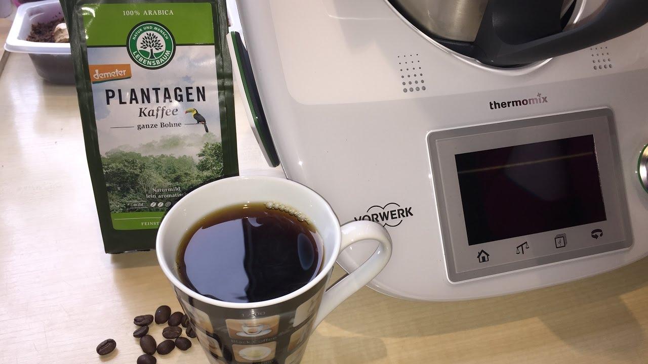 kaffee mahlen mit dem tm5 meine ersten erfahrungen thermomix demeter bohnen youtube. Black Bedroom Furniture Sets. Home Design Ideas