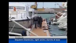 Anche barche di lusso tra i beni sequestrati al capo dei veterinari dell'Asp [TGMed 09/04/2015]