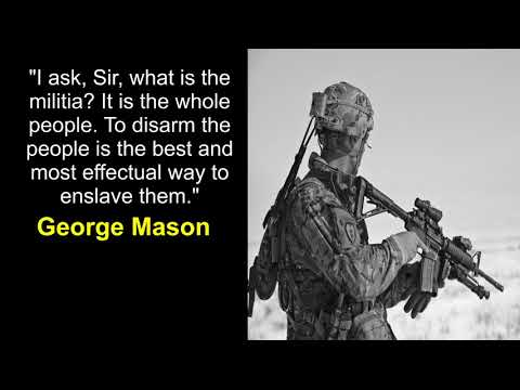 FOUNDING FATHERS BATTLE GUN GRABBERS FROM THE GRAVE - TOP 2nd AMENDMENT QUOTES THAT ARE REAL