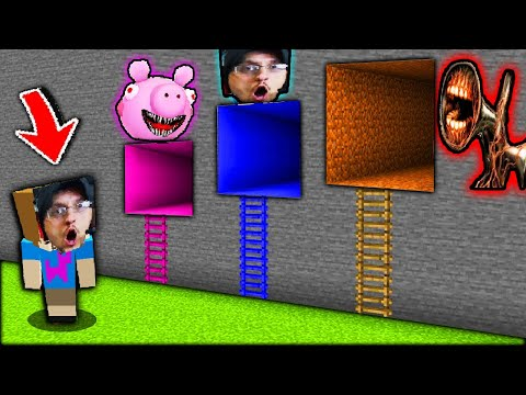 roblox piggy meets the simpsons escape piggysons fgteev wibbit mode minecraft youtube gaming family