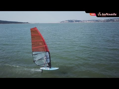 Loftsails 2020 Skyblade - Dedicated course race foil sail - Monty Spindler presents