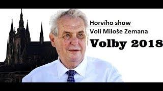 Prezidentské volby 2018-volím Miloše Zemana