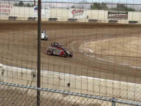 Focus Midget at Victorville Raceway ca