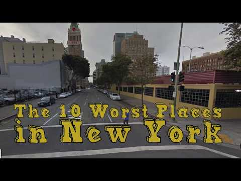 The 10 Worst Cities In New York Explained