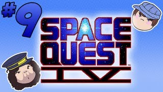 Space Quest IV: Burgers for Everyone - PART 9 - Steam Train