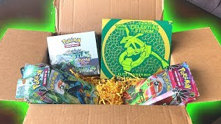 UNBOXING A BOX OF POKEMON CARDS FROM THE POKEMON COMPANY!